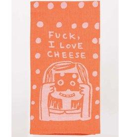 Tea Towel (Premium) - Fuck, I Love Cheese