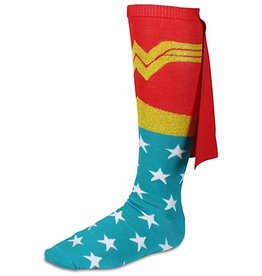 Womens Socks - DC Wonder Woman (Red Cape)