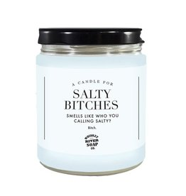 Whiskey River Soap Company Candles - Salty Bitches