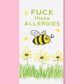 Dish Towel (Premium) - Fuck These Allergies