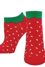 Socks (Womens) (Ankle) - Strawberries