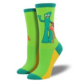 Socks (Womens) - Gumby And Pokey