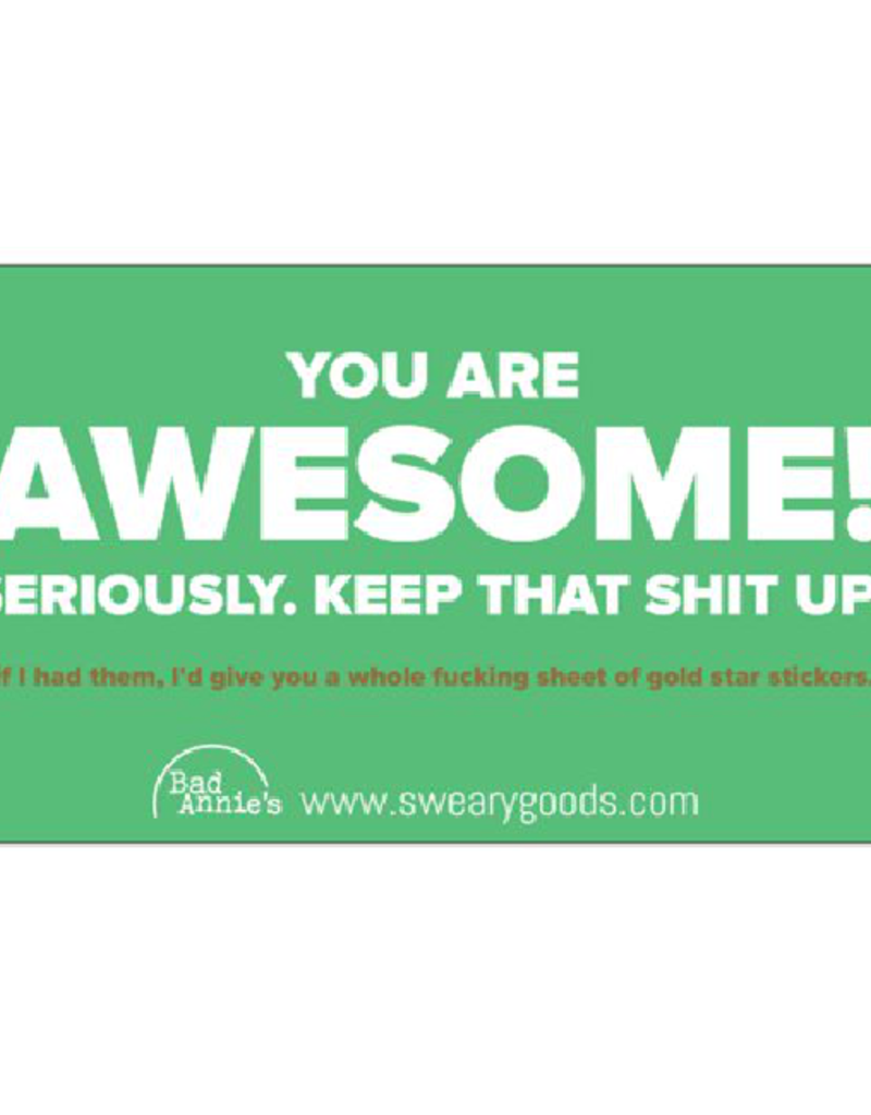 Business Card - You're Awesome (10 Pc)