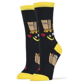 Womens Socks - Cat Bag