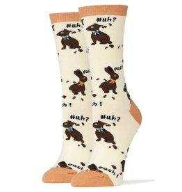 Womens Socks - Huh