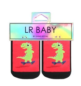 Kids Socks - Dino Skateboard
