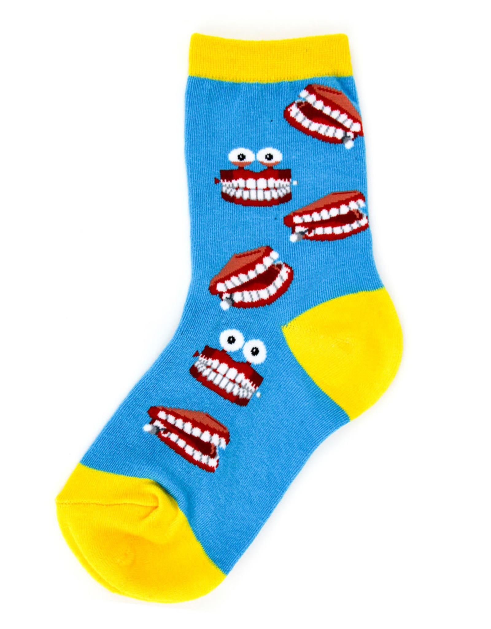 Socks (Kids) - Teeth