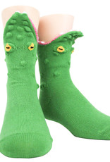 Kids Socks - 3D Alligator