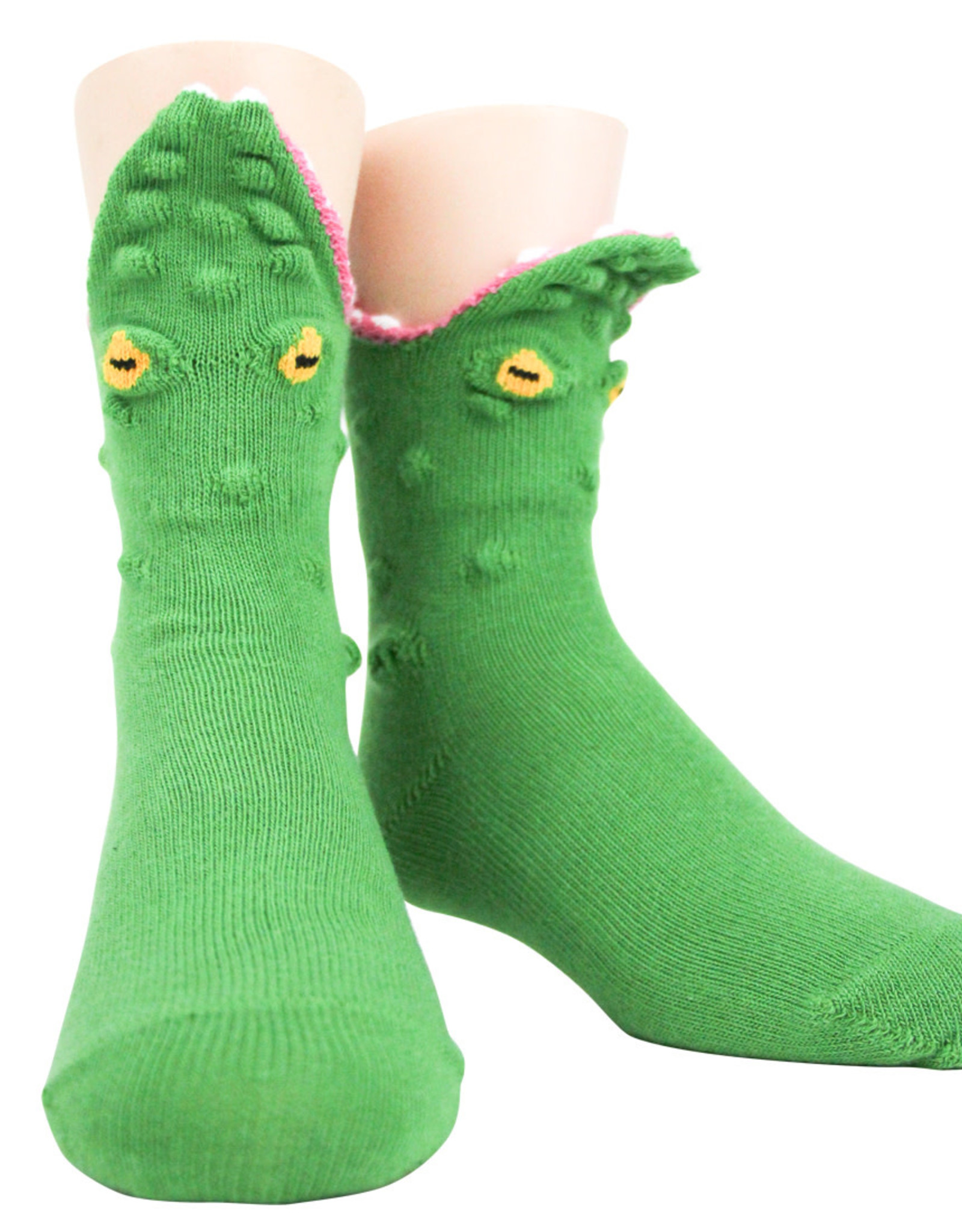 Socks (Kids) - 3D Alligator