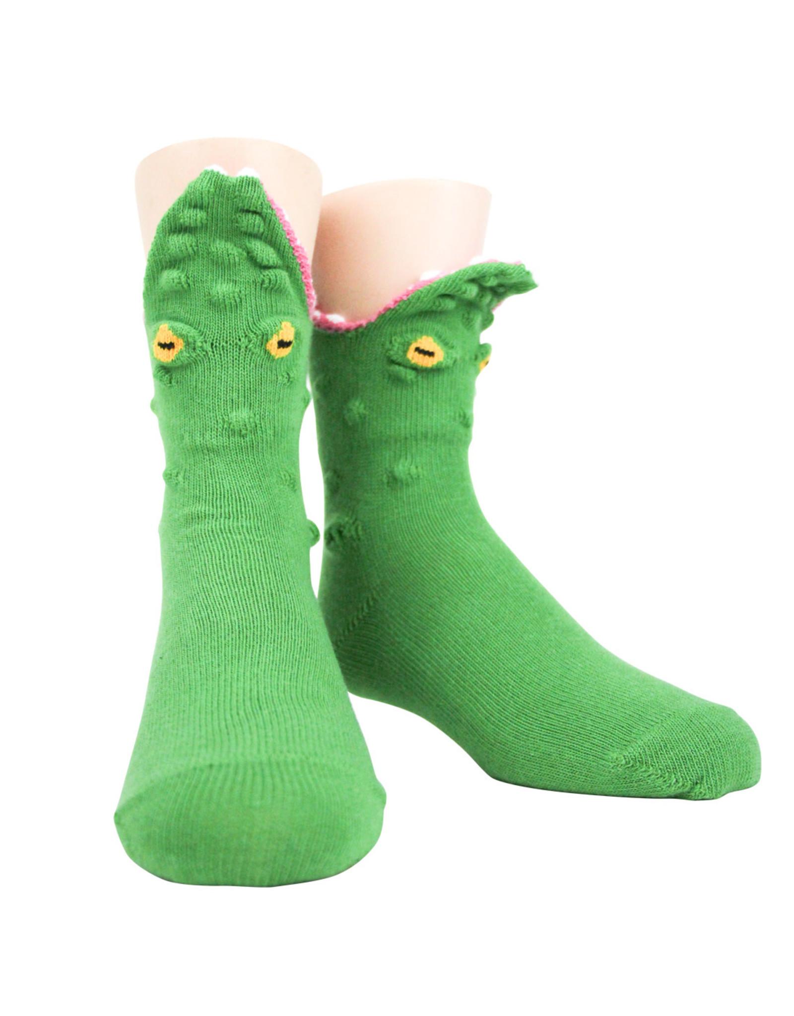 Socks (Kids) - 3D Alligator
