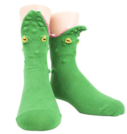 Kids Socks - 3D Alligator