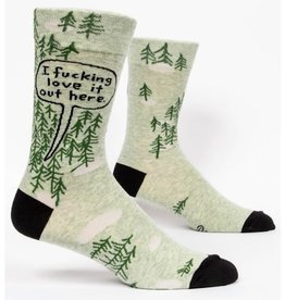Socks (Mens)  - I Fucking Love It Out Here