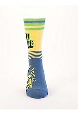 Socks (Mens)  - Yo Dude You're Late