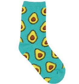 Kids Socks - Avocado (4 - 7 Years)