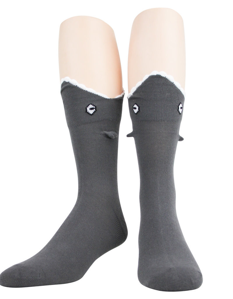 Mens Socks - 3D Shark