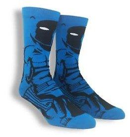BioWorld Mens Socks - Marvel Black Panther (Blue)