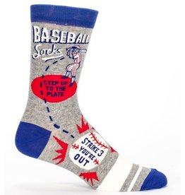 Blue Q Mens Socks - Baseball