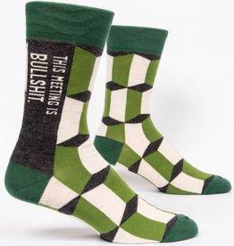 Socks (Mens)  - Meeting Is Bullshit