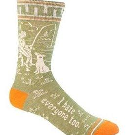 Mens Socks - I Hate Everyone Too