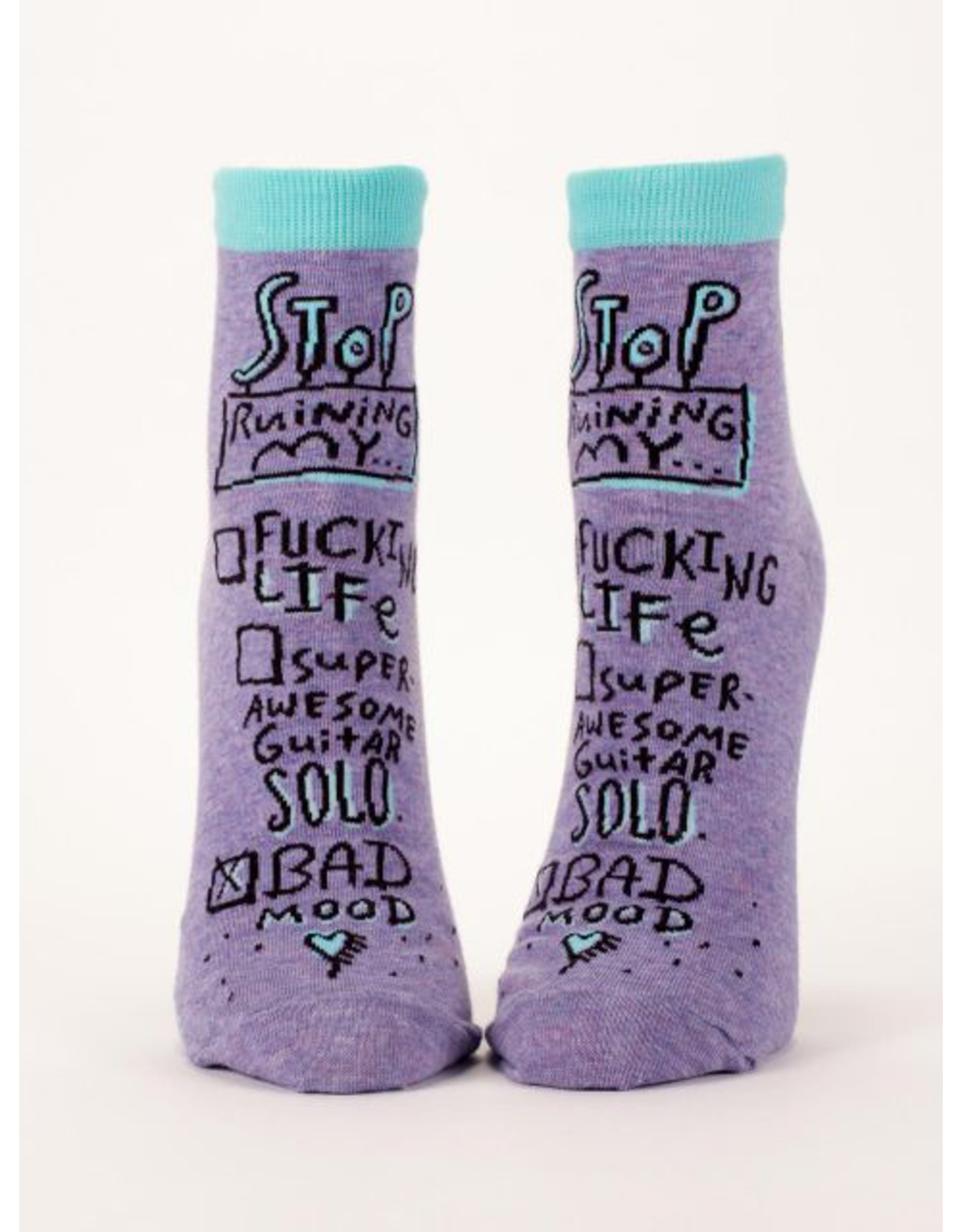 Socks (Womens) (Ankle) - Bad Mood