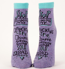 Womens Socks (Ankle) - Bad Mood