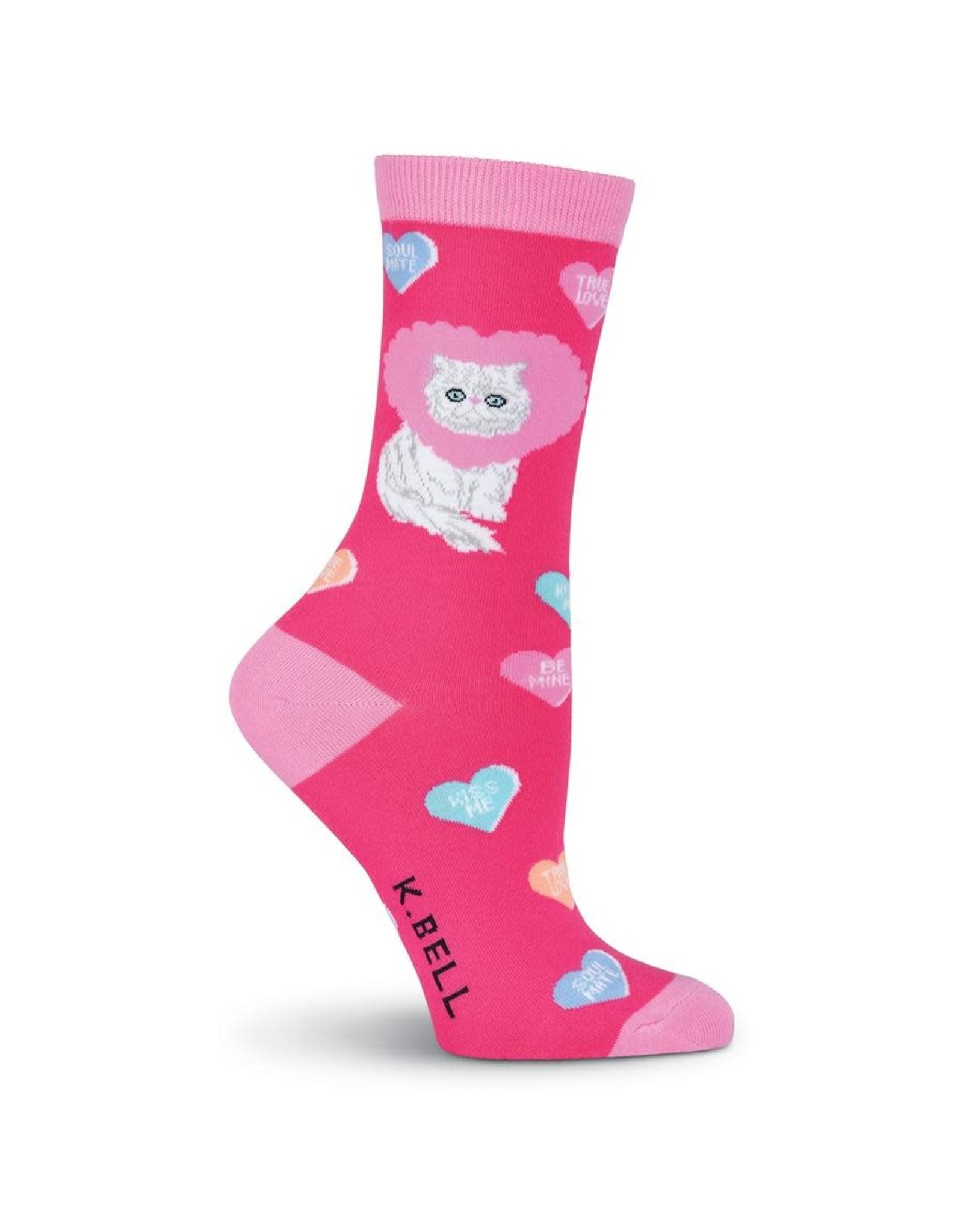 Socks (Womens) - White Cat