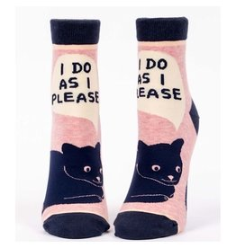 Socks (Womens) (Ankle) - I Do As I Please