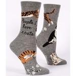 Socks (Womens) - People I Love Cats