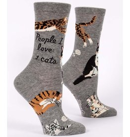 Socks (Womens) - People I Love Cats