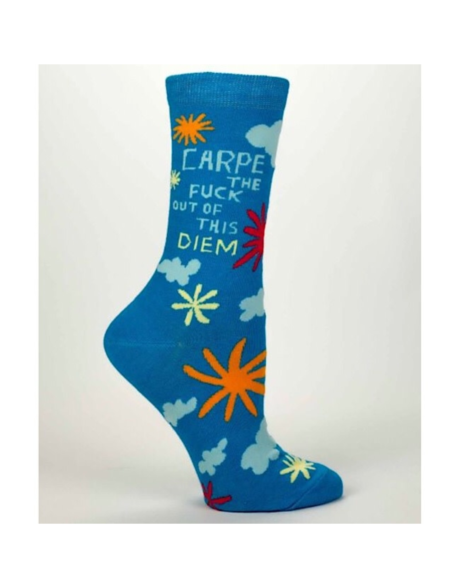 Socks (Womens) - Carpe The Fuck Out Of This Diem