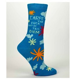 Socks (Womens) - Carpe The Fuck Out Of This Diem
