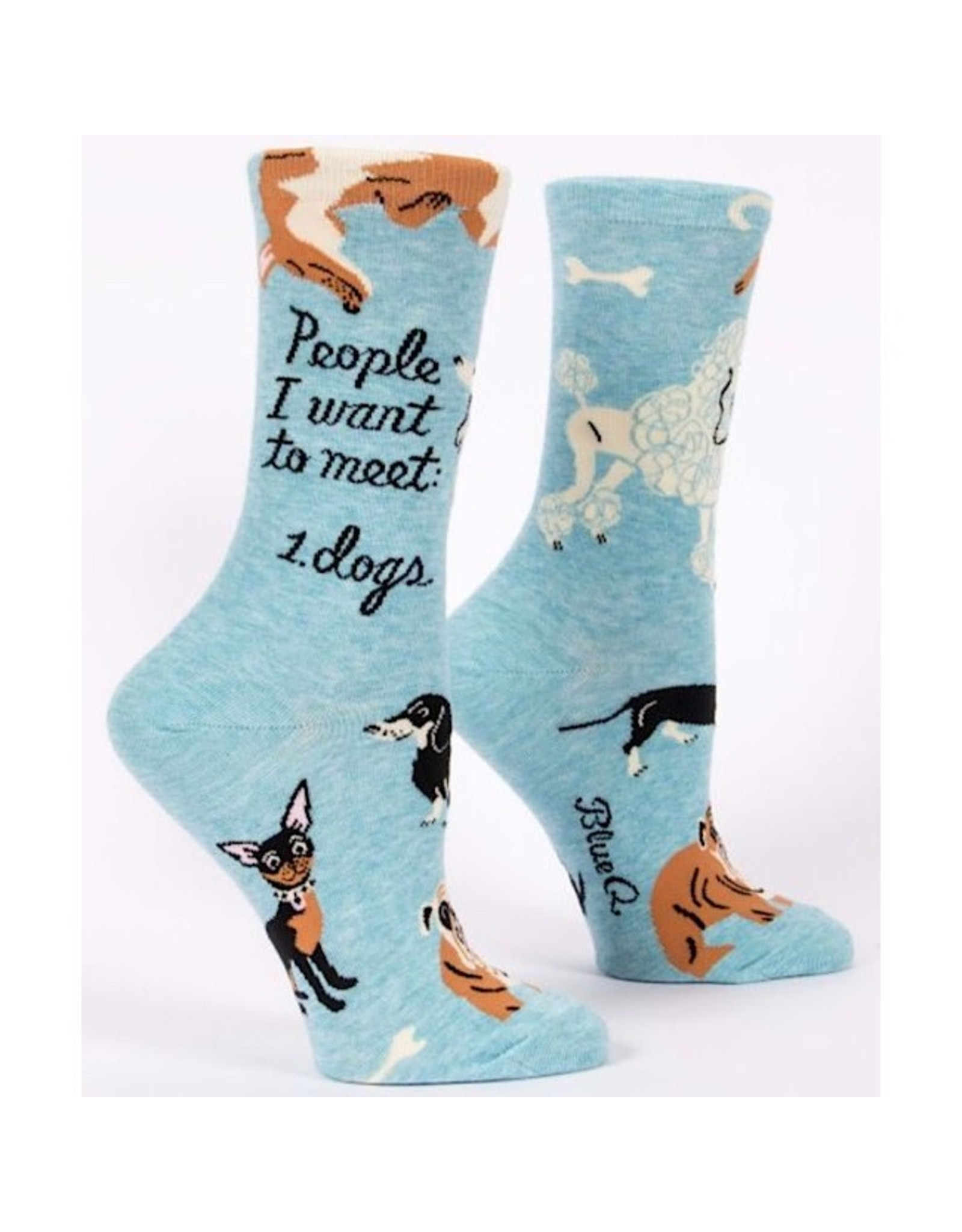 Socks (Womens) - People To Meet Dogs