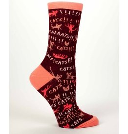 Socks (Womens) - Cats