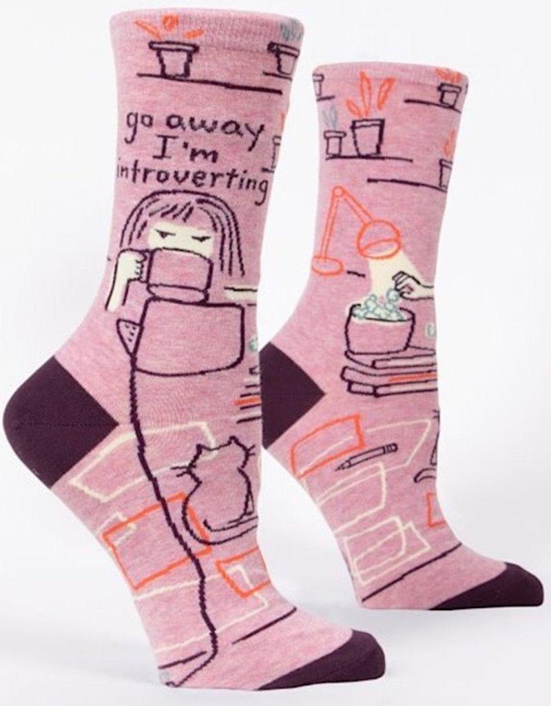 Blue Q Womens Socks - Go Away Introverting