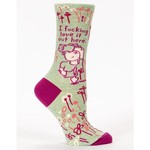 Socks (Womens) - Fucking Love It Out Here (Garden)