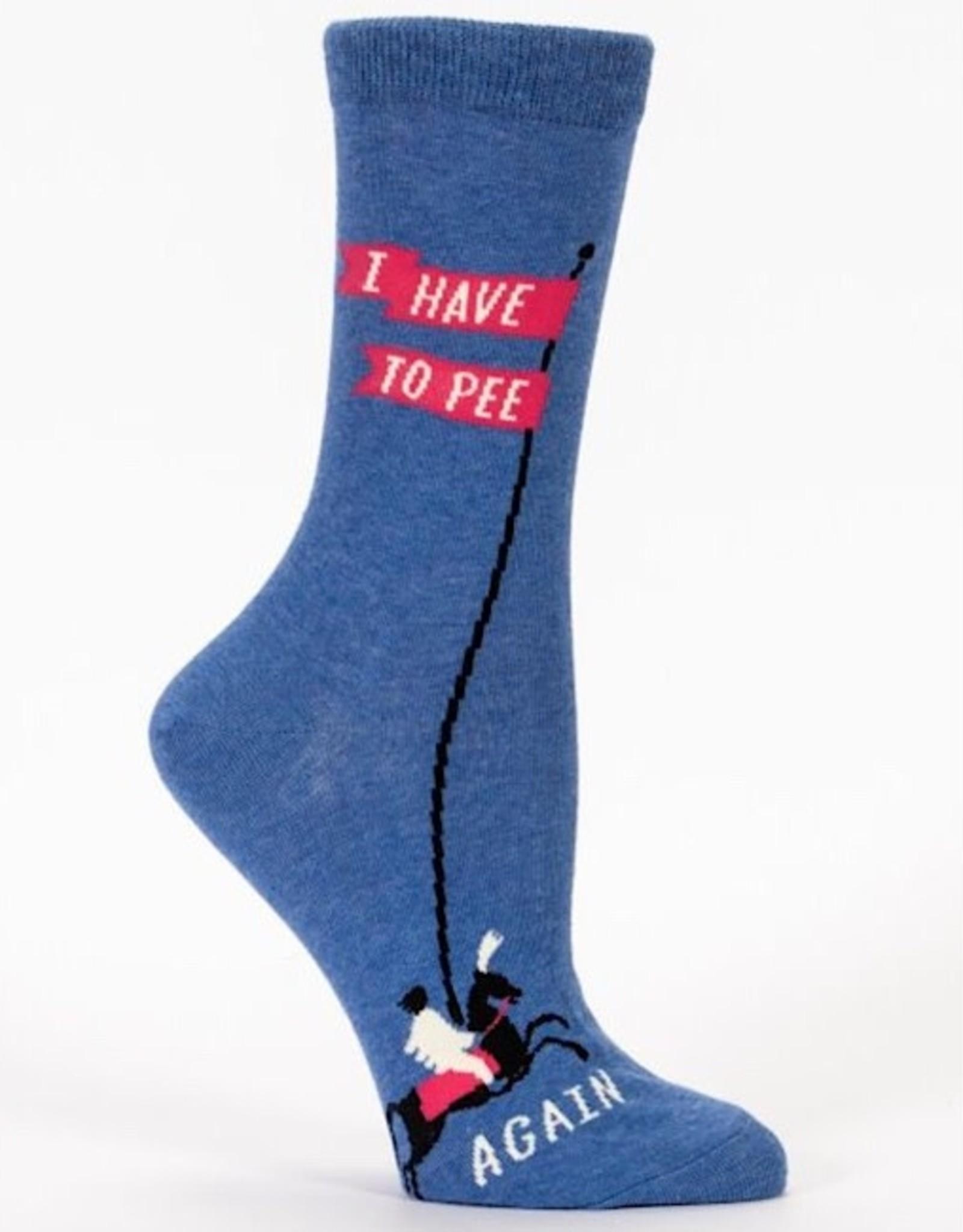 Socks (Womens) - I Have To Pee Again