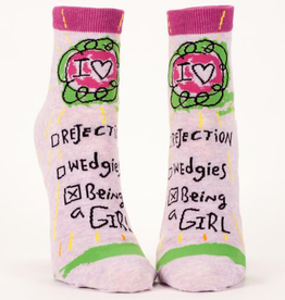 Socks (Womens) (Ankle) - Being A Girl
