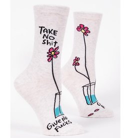 Womens Socks - Take No Shit Give No Fucks