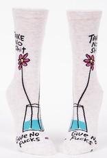 Womens Socks - Take No Shit Give No Fucks