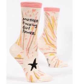 Blue Q Womens Socks - Mother Fucking Girl Power