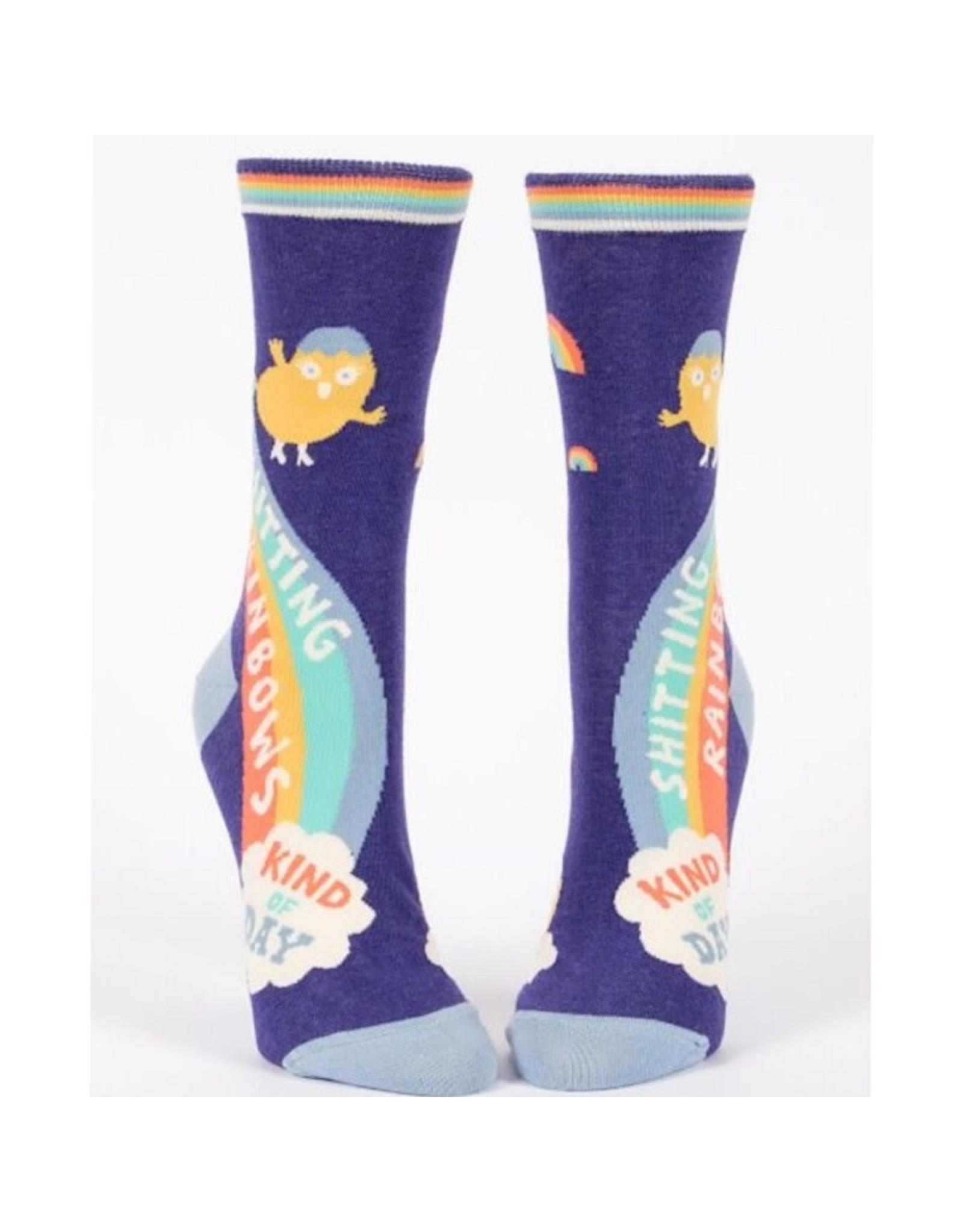 Socks (Womens) - Shitting Rainbows