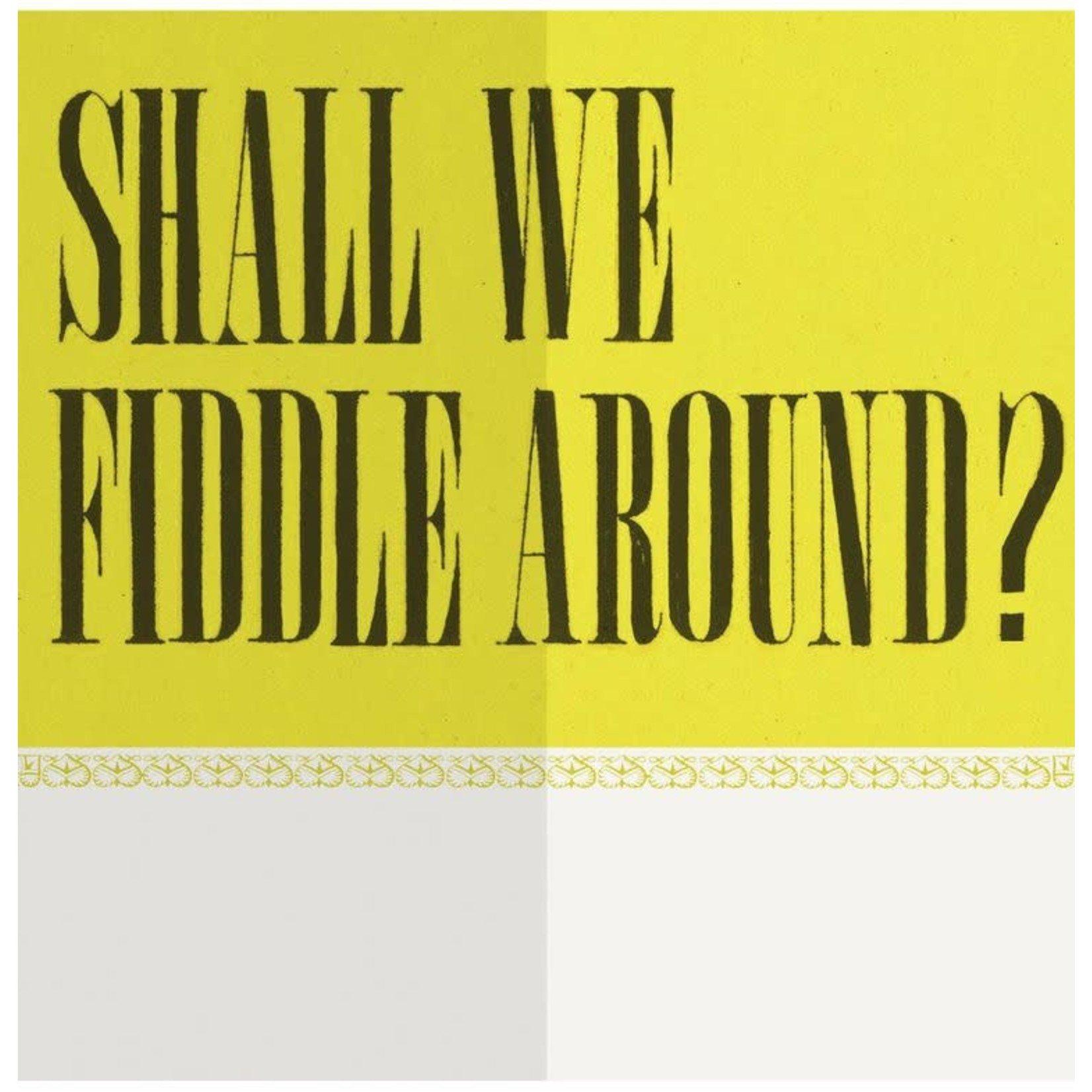 Card (Mini) - Shall We Fiddle Around