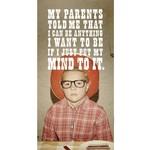 Card (Mini) - My Parents Told Me