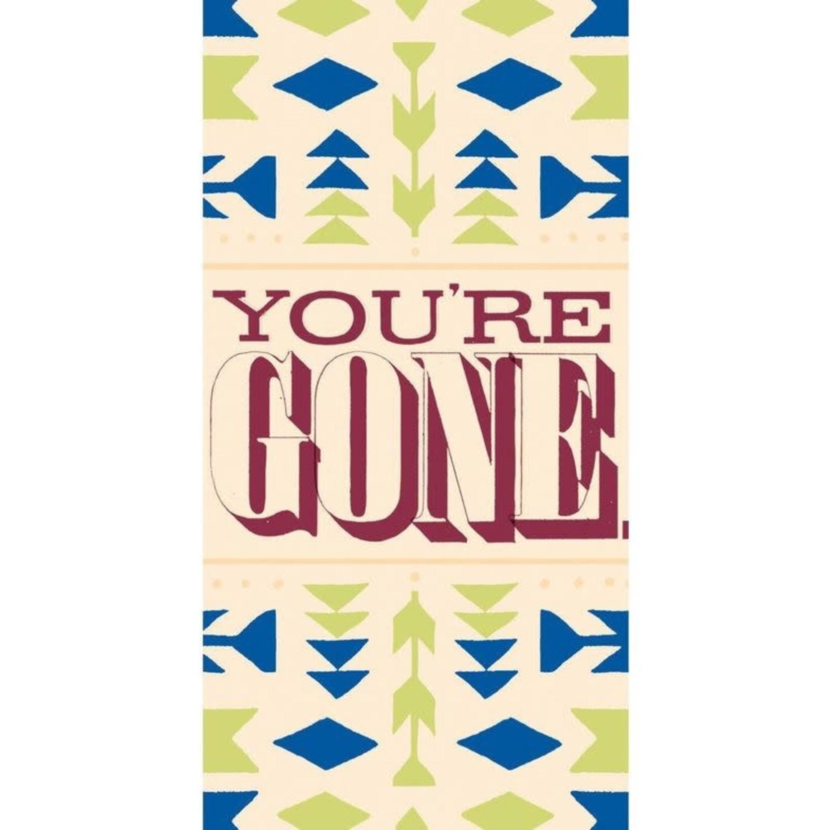 Card (Mini) - Youre Gone