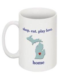 Mug - Shop Eat Play Love Live Drink Dance