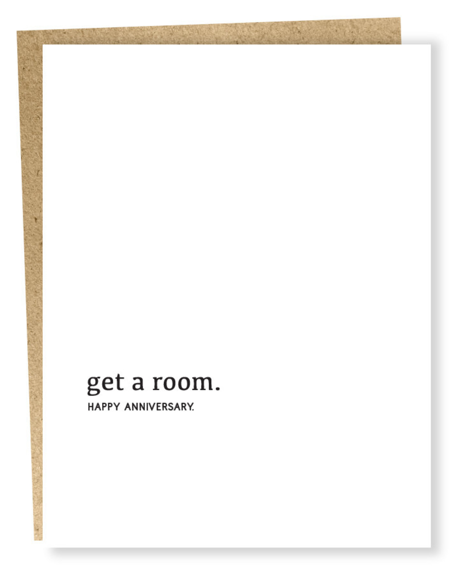 Card #963 - Anniversary Get A Room