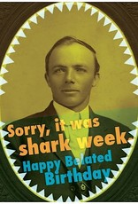 MCM Card - Sorry It Was Shark Week