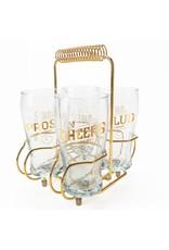 Glass Carrier (Gold)