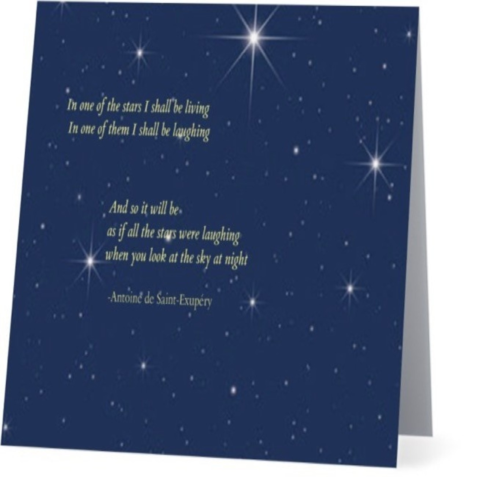 Bad Annie's Card #029 - In One Of The Stars