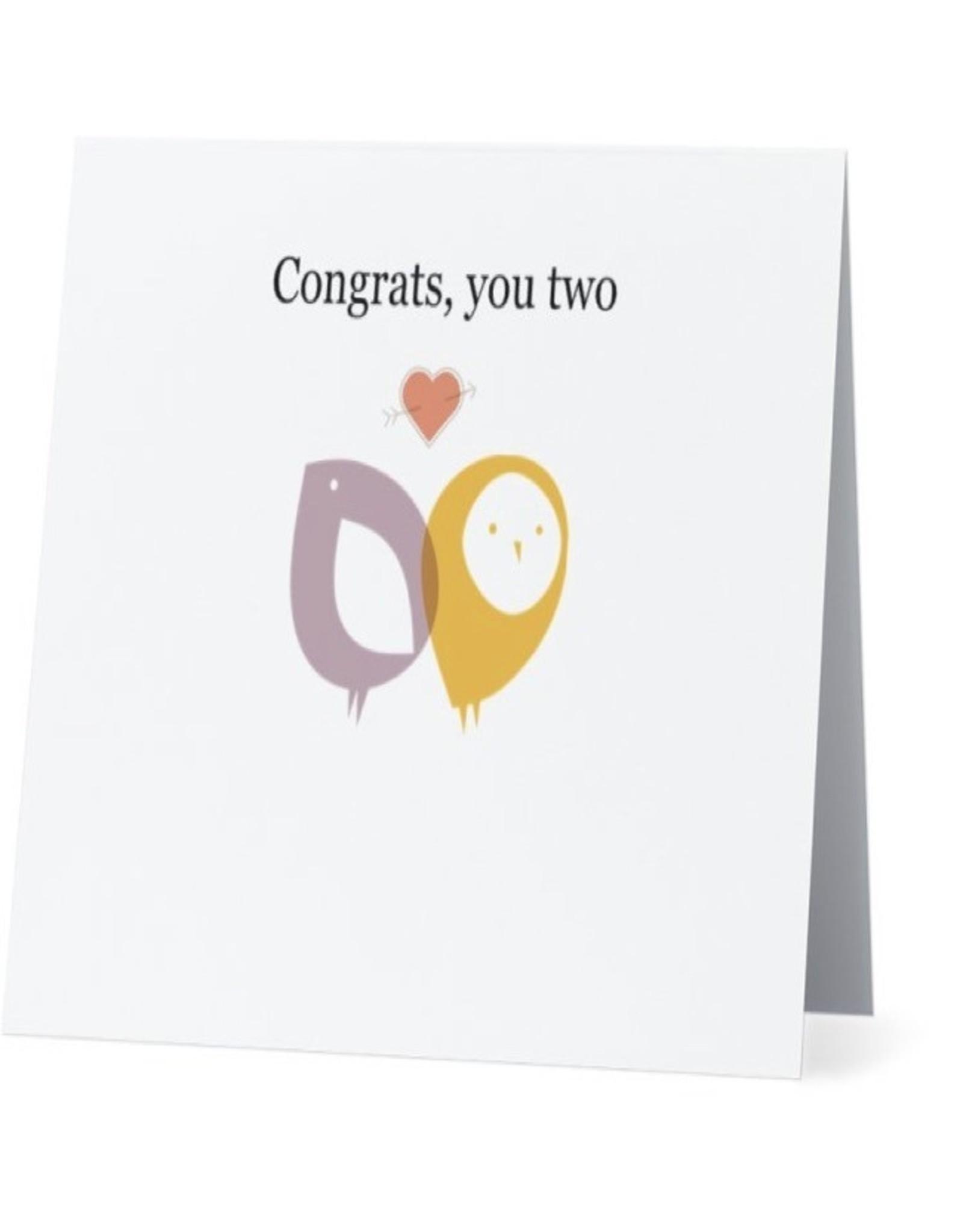 Card #003 - Congrats You Two